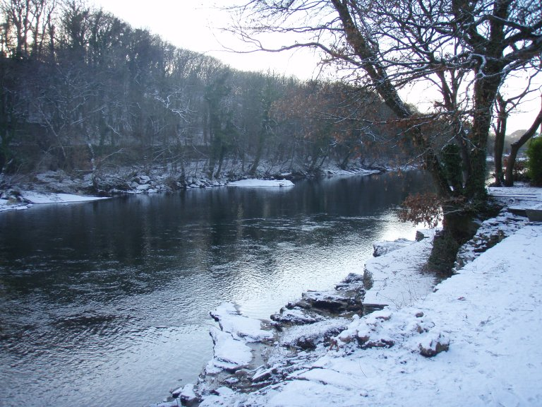 River Lune in winter
